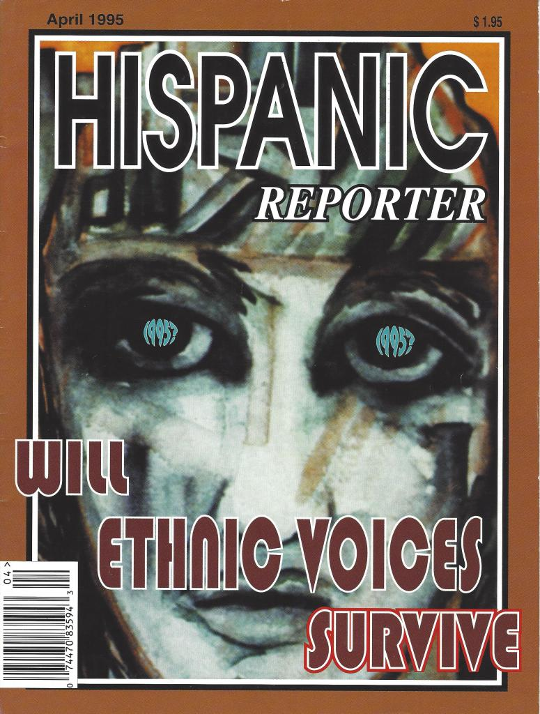 Hispanic Reporter 1995 Cover