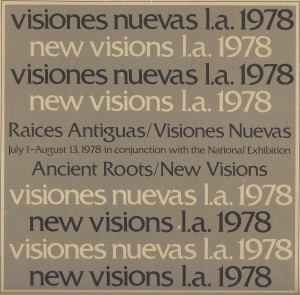 Ancient Roots-New Visions exhibit August 1978