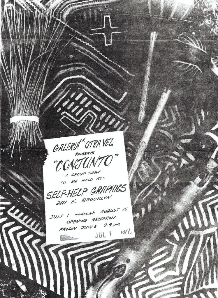 Conjunto - Galeria La Otra Vez, July 1977