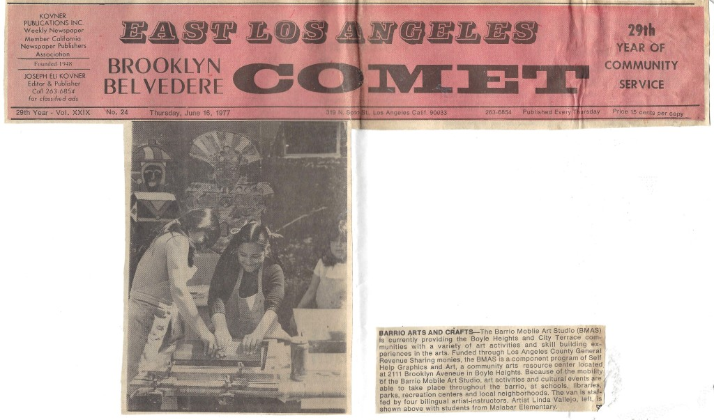 East Los Angeles Brooklyn Belvedere Comet, June 1977