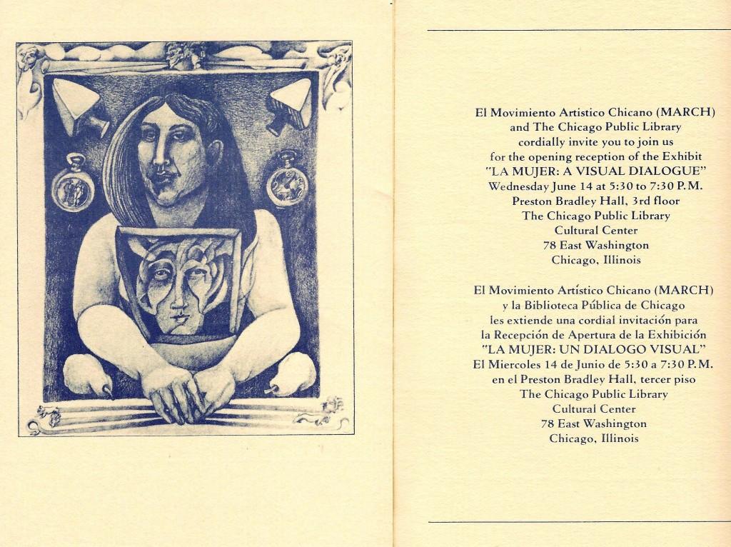 La Mujer - A Visual Dialogue, June-July 1978