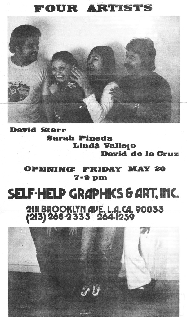 Mechicano - Four Artists, July 1977