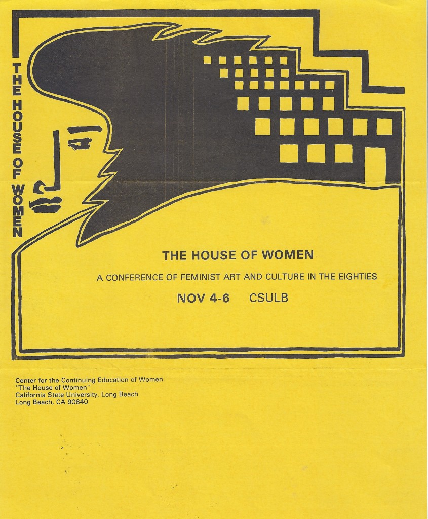 The House of Women Conference, CSULB, November 1983, pg. 3