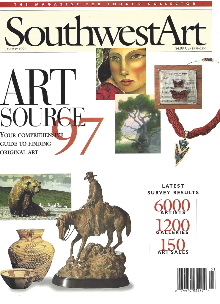 Southwest Art 1997 Cover